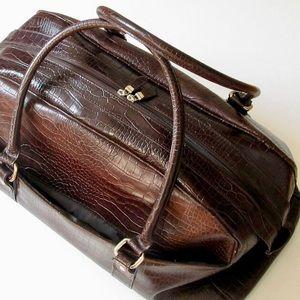 Crocodile Bath & Body Weekender carry on bag
